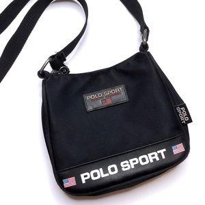 🇺🇸Polo Sport vintage 90s Ralph Lauren crossbody